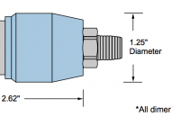 768-S Pressure Switch Envelope Dimensions